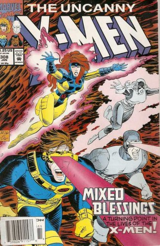 Uncanny X-Men #308 Marvel Comics Jan. 1994 GD/VG