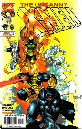 Uncanny X-Men #356 Marvel Comics June 1998 FN