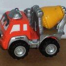Tonka Maisto 2000 Lil' Chuck Cement Mixer Truck Orange Yellow Loose