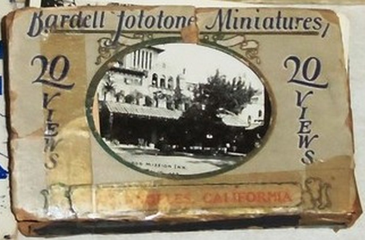 1922 Bardell Fototone Miniatures Los Angeles 20 Views