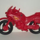 Speedster Cycle Red Plastic Toy Motorcycle with Light and Sound Loose Used