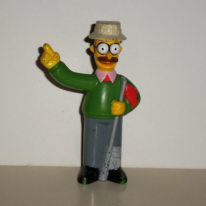 Burger King 2007 Simpsons Movie Ned Flanders Kids Meal Toy Loose