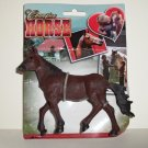 Champion Horse PVC Figure Brown Greenbrier on Original Card