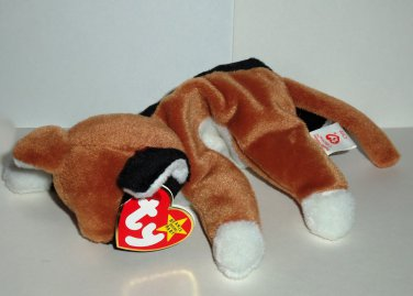 Ty 1997 Beanie Babies Chip the Cat Damaged Swing Tag Loose