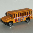Matchbox 2002 Kids Cars of the Year School Bus Bulldogs Football Diecast Car Loose Used