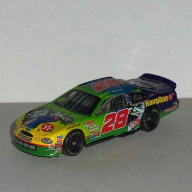 NASCAR Kenny Irwin #28 Joker 1:64 Scale Ford Taurus Diecast Toy Car Action Racing 1998 Loose Used