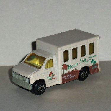 Motor Max #6084 Travel Bus Diecast & Plastic Vehicle CarLoose Used