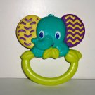 Bright Starts Flexi-Zoo Teether Elephant Baby Toy Loose Used