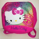 Hello Kitty Dome Mini Backpack Pink Peace Loose Used