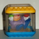 Fisher-Price Peek-a-Blocks Circus Clown Block Loose Used
