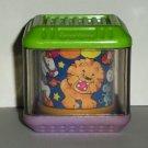 Fisher-Price Peek-a-Blocks Circus Carousel Block Loose Used