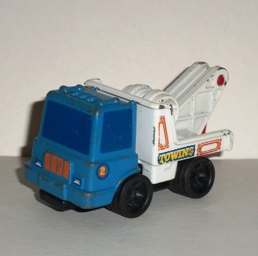 Vintage Mattel 1979 First Wheels Tow Truck Diecast Vehicle Loose Used