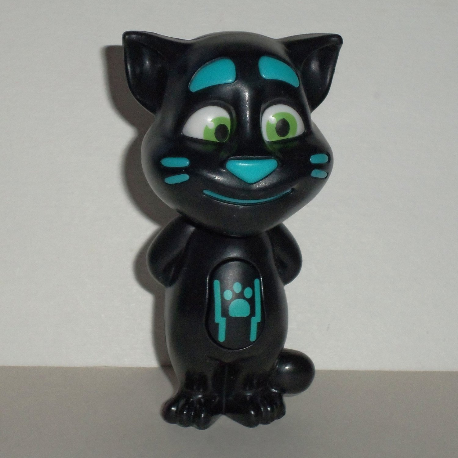McDonald's 2016 Talking Tom Classic Black Happy Meal Toy Loose Used