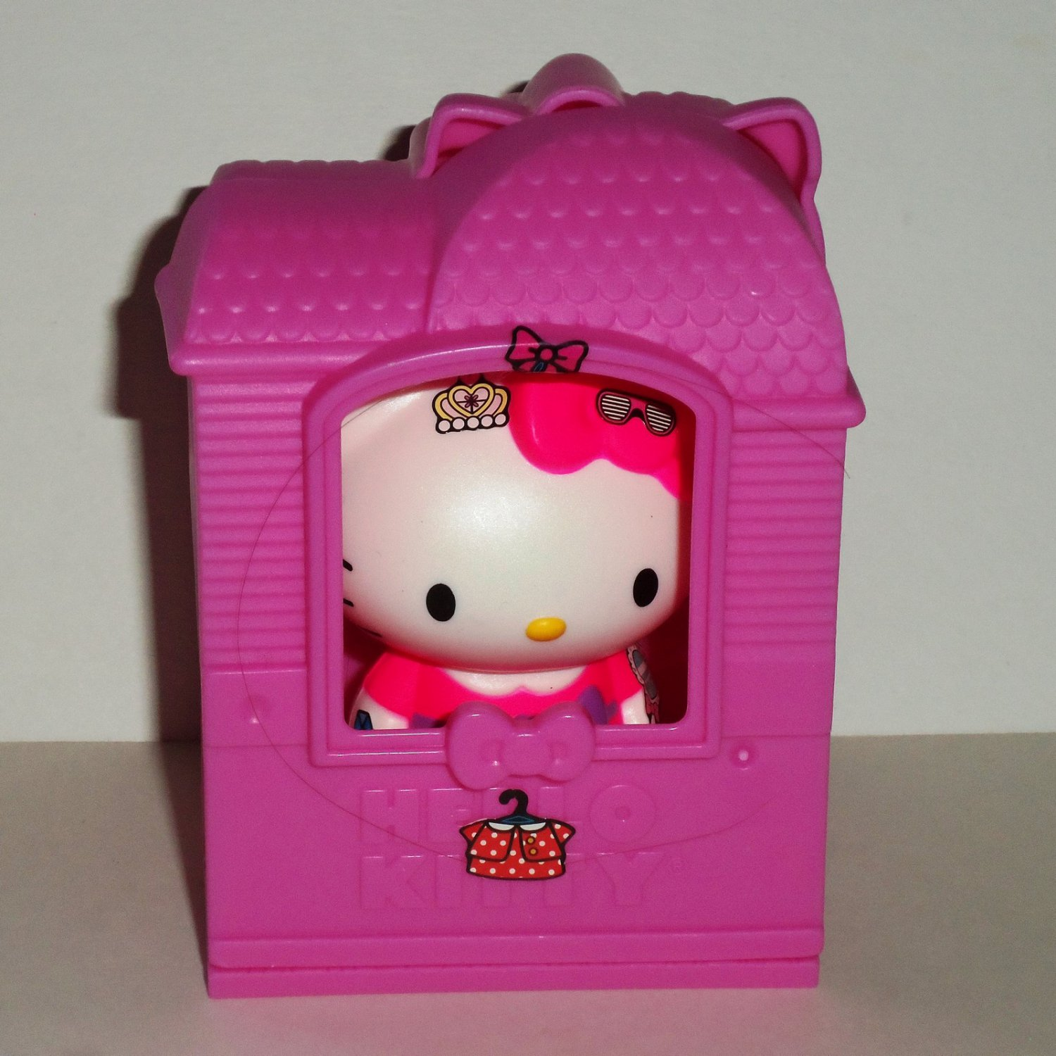 McDonald's 2016 Hello Sanrio Kitty Fashion Boutique Happy Meal Toy Loose Used