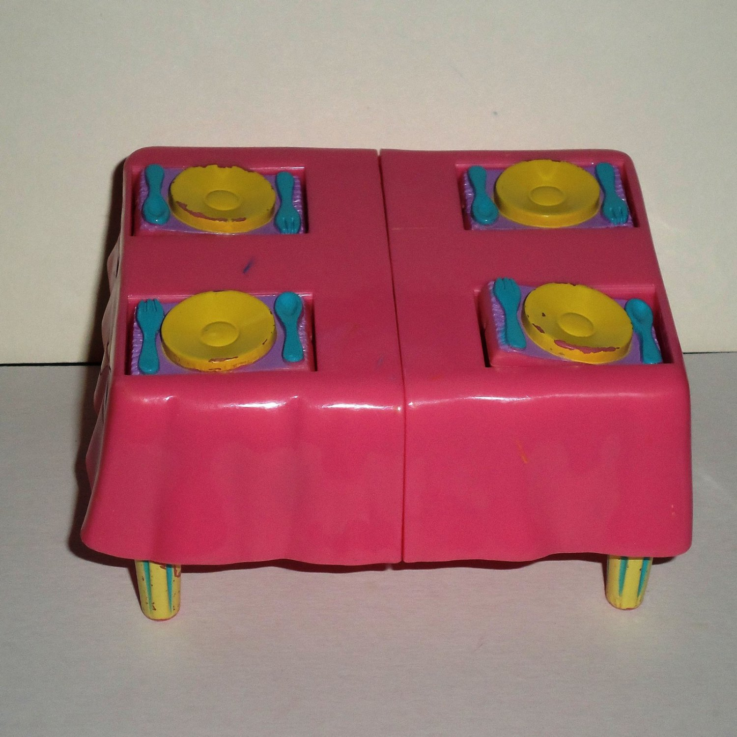 Fisher-Price Dora the Explorer Kitchen Table from C6914 Set Mattel Loose Used