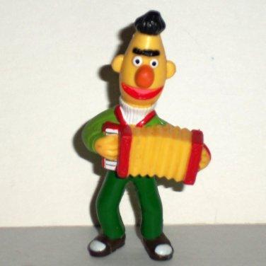 Sesame Street Bert with Accordion PVC Figure Muppets Tara Toys 1980s Loose Used