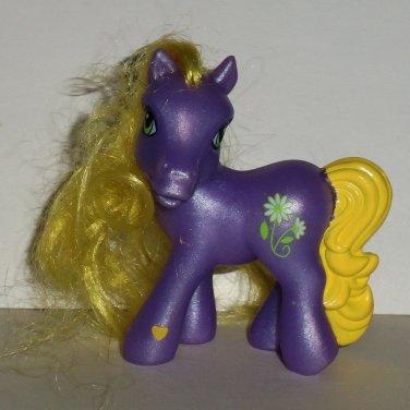 McDonald's 2005 My Little Pony Daisy Jo Happy Meal Toy Hasbro Loose Used