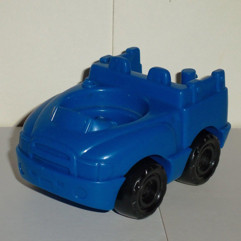 Fisher-Price Little People Blue Truck from 77715 Lil Farmers Market Set Mattel Loose
