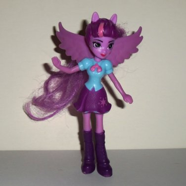 McDonald's 2015 My Little Pony Twilight Sparkle Doll Happy Meal Toy Hasbro Loose Used