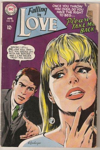 Falling in Love (1955) #98 DC Comics April 1968 Good -