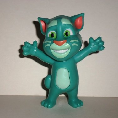 Mcdonald S 2016 Talking Tom Superstar Green Happy Meal Toy Loose Used