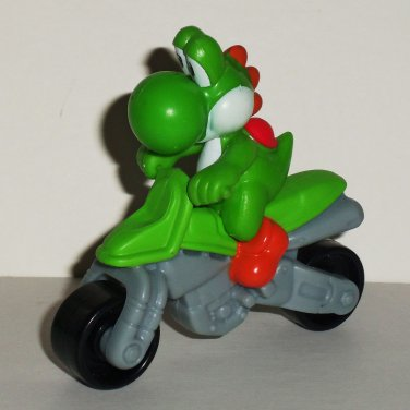 McDonald's 2014 Mario Kart 8 Yoshi w/o Stickers Happy Meal