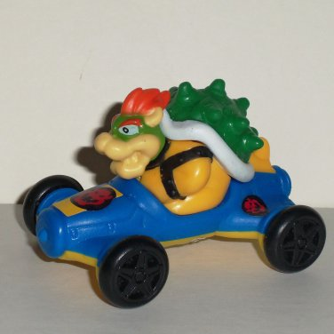 McDonald's 2014 Mario Kart 8 Bowser w/ Stickers Happy Meal