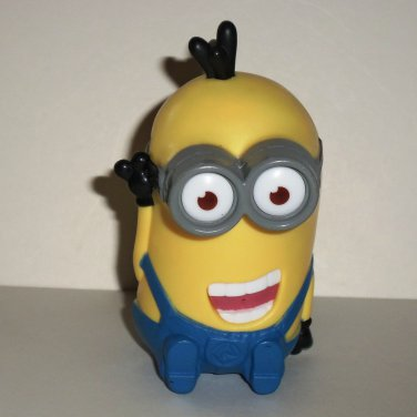 McDonald's 2013 Despicable Me 2 Tim Giggling Happy Meal Toy Minions Loose Used