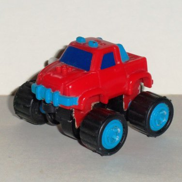 McDonald's 1991 Mighty Mini 4x4 Pocket Pick-Up Happy Meal Toy Loose Used