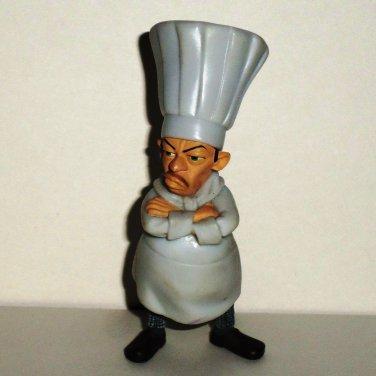 Disney Pixar Ratatouille Chef Skinner Pvc Figure Loose Used