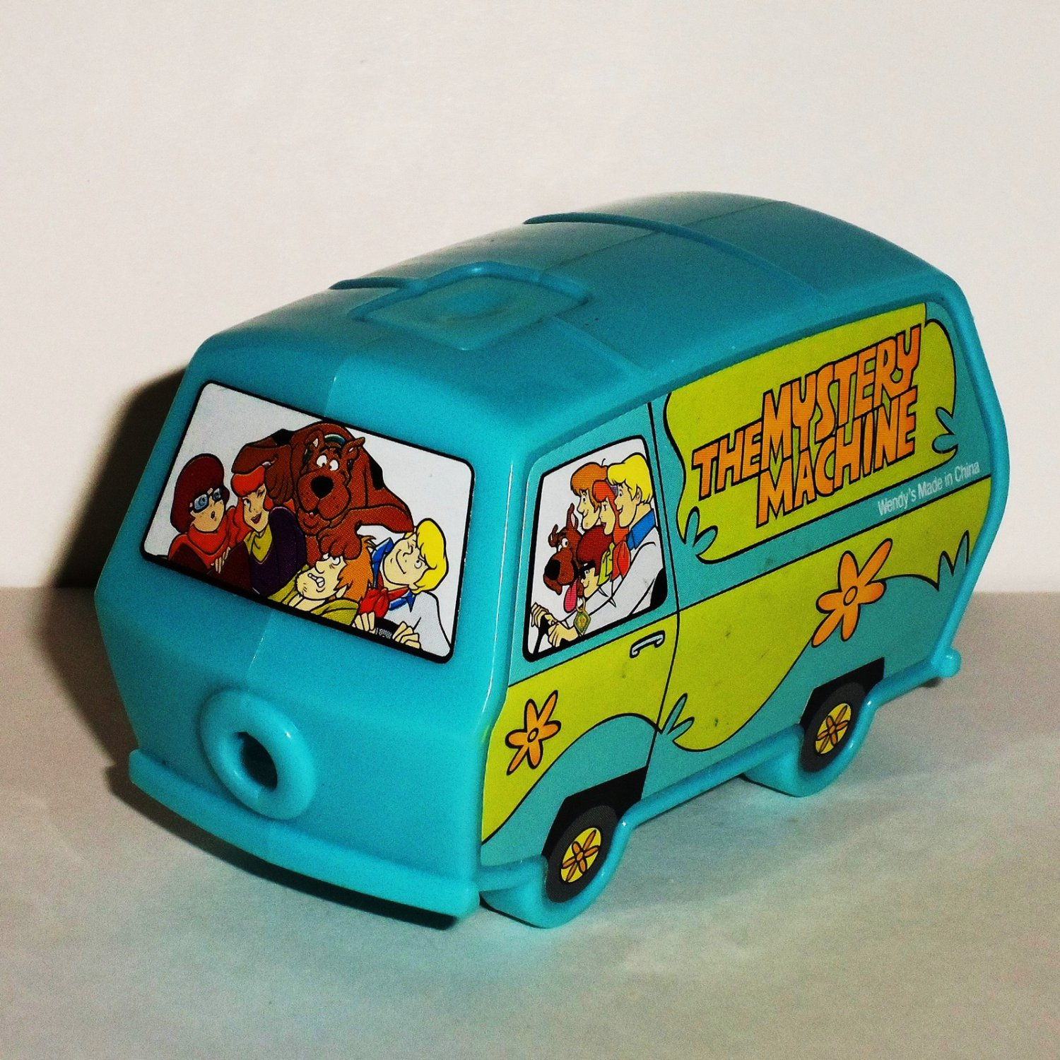 Wendy's 2014 Scooby Doo Secret Message Mystery Machine Kids' Meal Toy Loose Used
