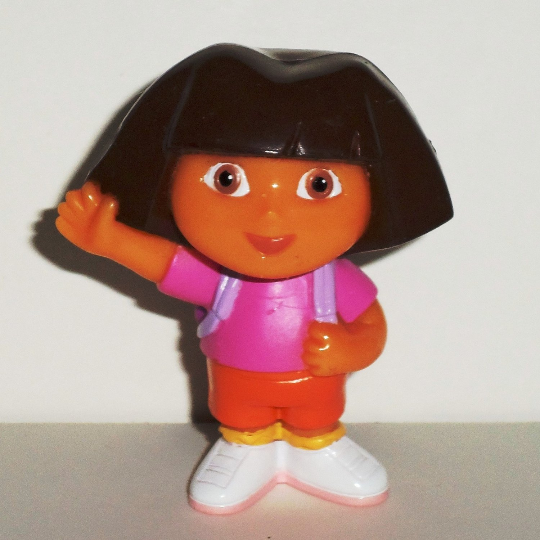 Fisher-Price Dora the Explorer Waving Doll Figure Mattel 2006 Loose Used