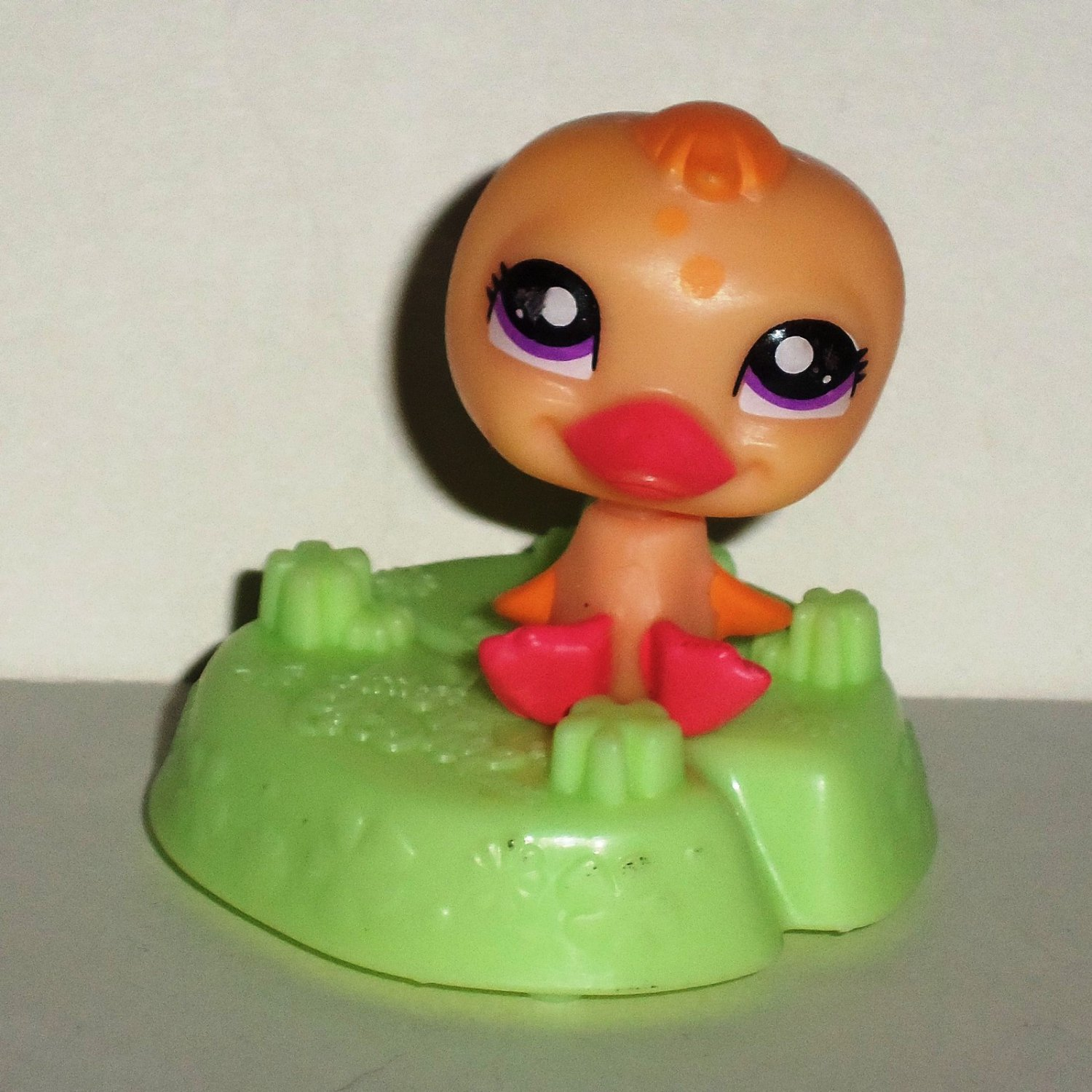 McDonald's 2011 Littlest Pet Shop Duck Happy Meal Toy Hasbro Loose Used