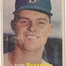 1957 Topps Baseball Card #18 Don Drysdale RC Brooklyn Dodgers Poor