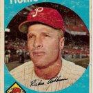 1959 Topps Baseball Card #300 Richie Ashburn Philadelphia Phillies Fair