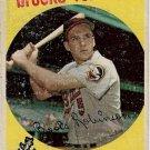 1959 Topps Baseball Card #439 Brooks Robinson Baltimore Orioles Poor
