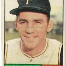 1961 Topps Baseball Card #1 Dick Groat Pittsburgh Pirates Good