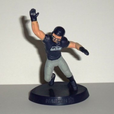McDonald's 2014 Madden NFL 15 Seattle Seahawks Figure Happy Meal Toy Loose Used