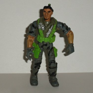 The Corps 2003 Action Figure w/ Green & Gray Outfit Lanard Toys Loose Used