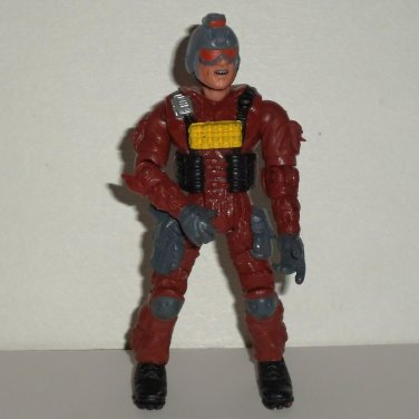 The Corps Action Figure w/ Red Gray & Black  Outfit Lanard Toys Loose Used