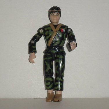 The Corps Dragon Han in Camouflage Outfit Action Figure Lanard Toys 1986 Loose Used