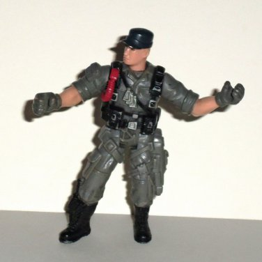 Chap Mei Soldier Force Action Figure w/ Gray Outfit Loose Used