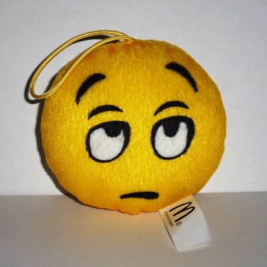 McDonald's 2016 Emoji Plush Whatever Happy Meal Toy Loose Used