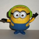 McDonald's 2017 Despicable Me 3 Groovin' Minion Happy Meal Toy Minions Loose Used
