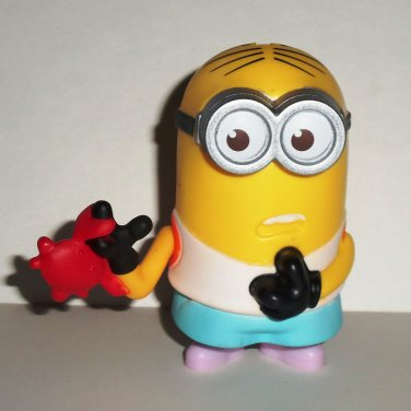 McDonald's 2017 Despicable Me 3 Crab Bite Minion Happy Meal Toy No Hat Loose Used