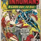 Inhumans (1975 Series) #4 Marvel Comics April 1975 GD Might Be Signed