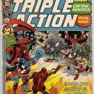 Marvel Triple Action (1972 series) #5 Avengers Marvel Comics Sept 1972 GD/VG