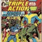 Marvel Triple Action (1972 series) #25 Avengers Marvel Comics Sept 1975 GD
