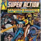 Marvel Super Action (1977 series) #9 Captain America Marvel Comics Aug 1978 FN