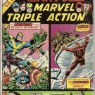 Giant Size Marvel Triple Action #2 Avengers Daredevil Doctor Strange Thor Marvel Comics July 1975 GD